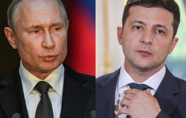 O Πούτιν κάλεσε τον Ουκρανό πρόεδρο να συναντηθούν στη Μόσχα