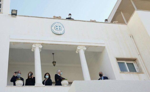 Λιβύη: Επαναλειτουργεί η Ελληνική Πρεσβεία στην Τρίπολη (φωτο+βίντεο)