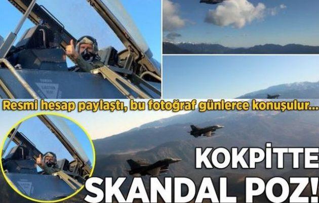 Ο Πάιατ «τρέλανε» τους Τούρκους – Γράφουν θεωρίες συνωμοσίας επειδή πέταξε με F-16 στον «Ηνίοχο 21»