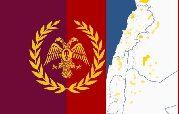 Έλληνες της Συρίας δημοσίευσαν χάρτη με τη διασπορά της ελληνικής μειονότητας στη Μέση Ανατολή