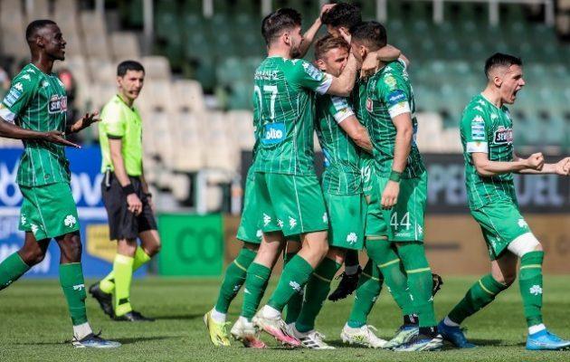 Ο Παναθηναϊκός «πάτησε» στην Λεωφόρο Αλεξάνδρας τον ΠΑΟΚ 3-0