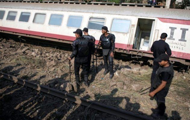 Αίγυπτος: Eκτροχιασμός τρένου με 100 τραυματίες
