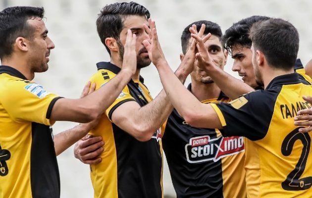 Άλμα Ευρώπης για την ΑΕΚ 3-1 τον Αστέρα Τρίπολης
