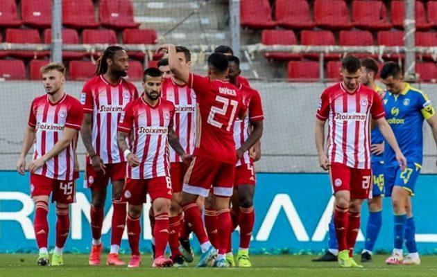 Δια περιπάτου νίκη του Ολυμπιακού επί του Αστέρα Τρίπολης (1-0)