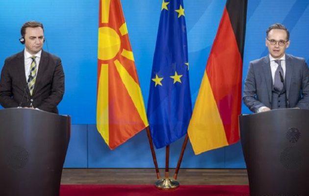 DW: Η Γερμανία στηρίζει την έναρξη ενταξιακών διαπραγματεύσεων της ΕΕ με τη Βόρεια Μακεδονία