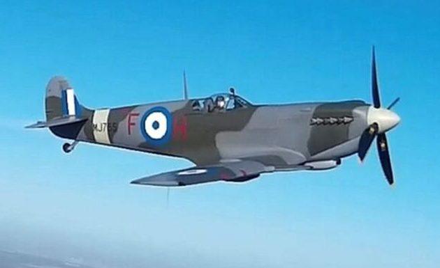 Το Spitfire MJ755 επιστρέφει πετώντας στην Ελλάδα πλήρως ανακατασκευασμένο