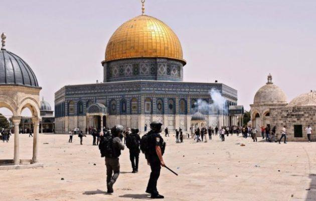 Επεισόδια στο Όρος του Ναού μεταξύ Παλαιστινίων και Ισραηλινών αστυνομικών