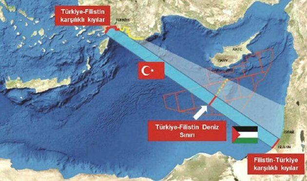 Ο πειρατής «μπαμπάς» της Γαλάζιας Πατρίδας επιμένει σε ΑΟΖ Τουρκίας-Γάζας