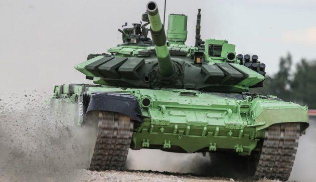 H Ρωσία παρέδωσε στη Σερβία άρματα μάχης και τεθωρακισμένα οχήματα