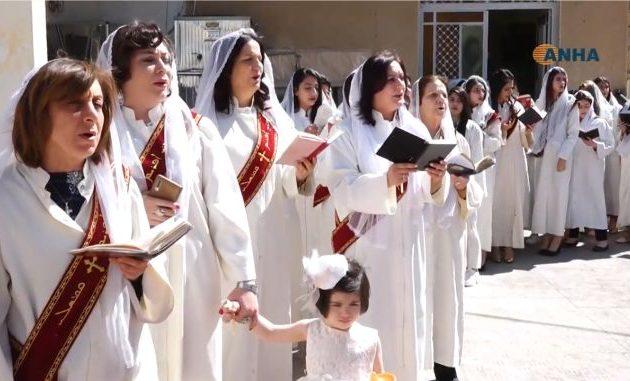 Οι Ασσύριοι του Καμισλί στη Β/Α Συρία εόρτασαν την Κυριακή του Πάσχα