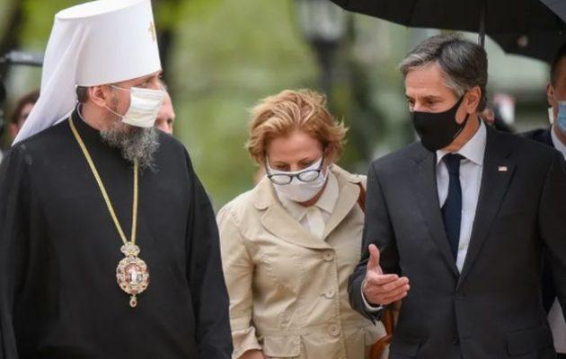 Ο Άντονι Μπλίνκεν στο Κίεβο σε μια επίδειξη αλληλεγγύης των ΗΠΑ στην Ουκρανία
