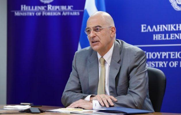 Νίκος Δένδιας στο Atlantic Council: Κοινές οι αξίες Ελλάδας και ΗΠΑ – Θέλουμε περισσότερη Αμερική στην περιοχή
