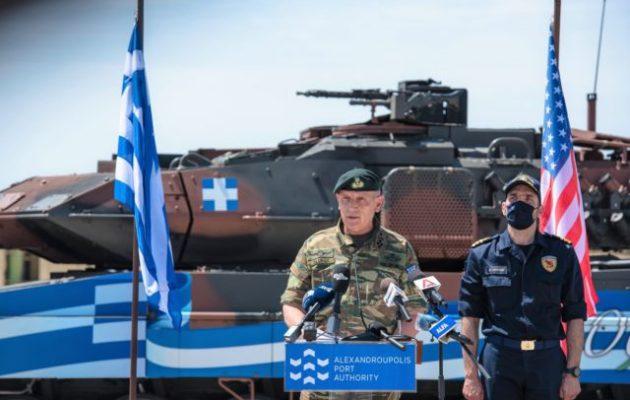 Στρατηγός Φλώρος: Νέα πνοή στην αμυντική μας συνεργασίας με τις ΗΠΑ