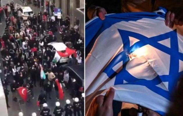 Τούρκοι και μουσουλμάνοι της Γερμανίας επιτίθενται σε εβραϊκές συναγωγές