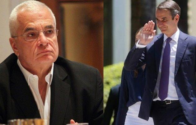 Ο Πρετεντέρης του ομίλου Μαρινάκη λοιδορεί τον Μητσοτάκη: «Επιθεωρητής Μονταλμπάνο»