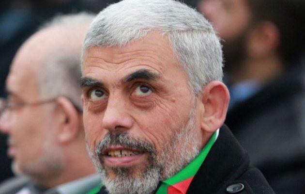 Το Ισραήλ βομβάρδισε το σπίτι του Γιαχία Σινουάρ στη Γάζα