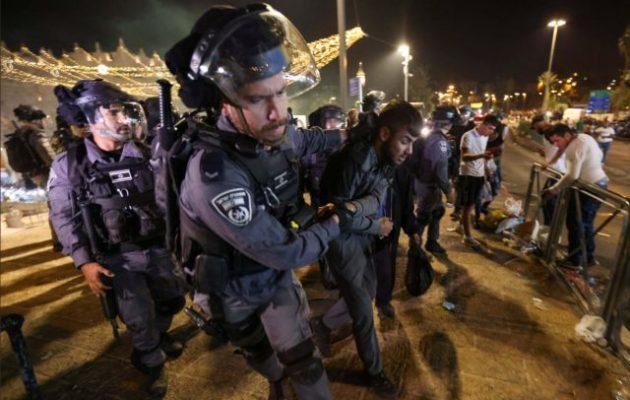 Νέες οδομαχίες μεταξύ Παλαιστινίων διαδηλωτών και ισραηλινής Αστυνομίας στην Ιερουσαλήμ