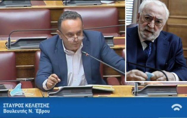 Ο πρόεδρος της προανακριτικής της Βουλής Στ. Κελέτσης ομολόγησε ότι αλλοίωσε τα πρακτικά