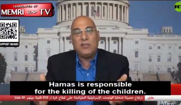 Μαγκντί Χαλίλ: Η Χαμάς θυσιάζει παιδιά για τις ατζέντες Ιράν και Τουρκίας (βίντεο)