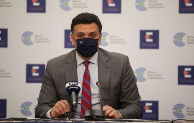 Κικίλιας: Κάτω από 40 ο μέσος όρος κρουσμάτων – Τι είπε για τις θρομβώσεις στην Κρήτη