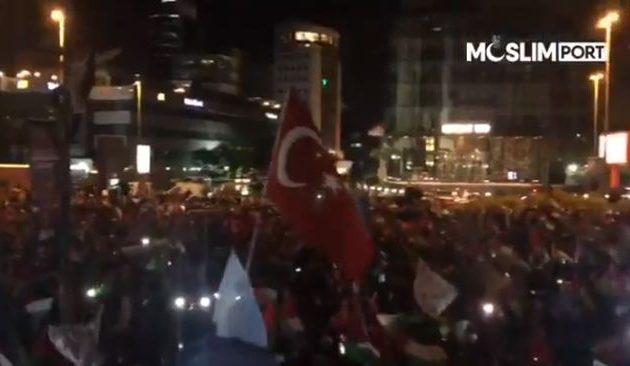 Τουρκικός όχλος πολιορκεί το Ισραηλινό Προξενείο στην Κωνσταντινούπολη (βίντεο)