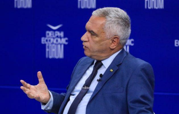 Κωσταράκος: Η Τουρκία έχει εργαλειοποιήσει τα τρία «Μ»: «Migration, Military, Mosques»
