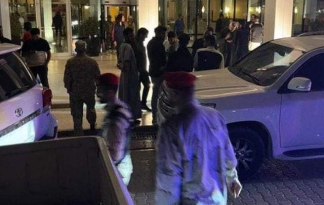 Παραλίγο πραξικόπημα το βράδυ στη Λιβύη – Τζιχαντιστές του Ερντογάν εισέβαλαν ένοπλοι στην έδρα της Προεδρίας
