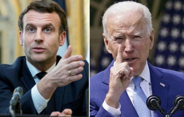 Οι Έλληνες ξέρουν ποιοι είναι οι σύμμαχοί τους: Γαλλία και ΗΠΑ – Στα ύψη Μακρόν και Μπάιντεν