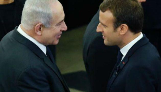Μακρόν σε Νετανιάχου: Το Ισραήλ έχει δικαίωμα στην αυτοάμυνα
