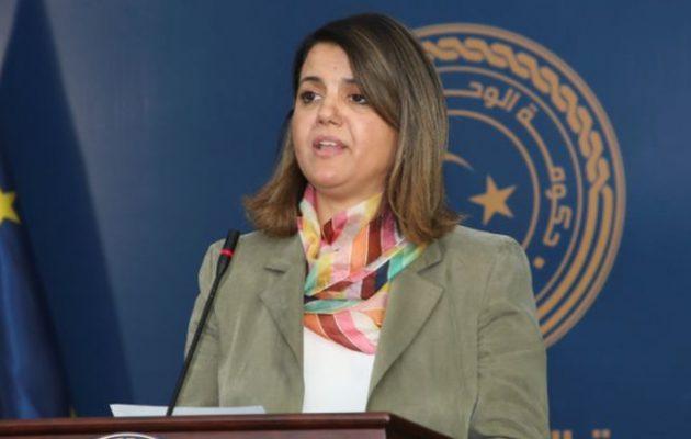 Λίβυος αναλυτής: Η Τουρκία υποκινεί τις αντιδράσεις κατά της Λίβυας ΥΠΕΞ Νάτζλα Μανγκούς