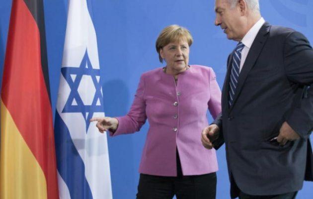 Η Μέρκελ εξέφρασε στον Νετανιάχου την αλληλεγγύη της στο Ισραήλ
