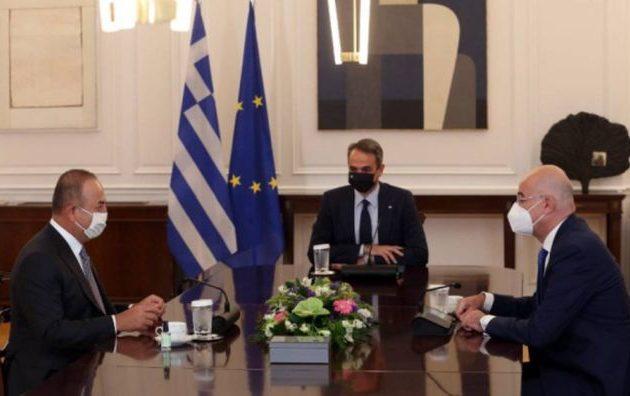 Τι συζήτησαν Μητσοτάκης και Τσαβούσογλου – Τι περιλαμβάνει η «θετική ατζέντα»
