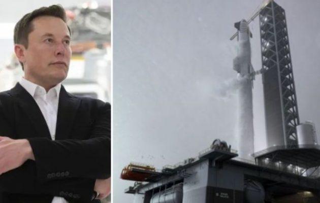 Ο Έλον Μασκ έδωσε ελληνικό όνομα στο θαλάσσιο διαστημοδρόμιο της SpaceX