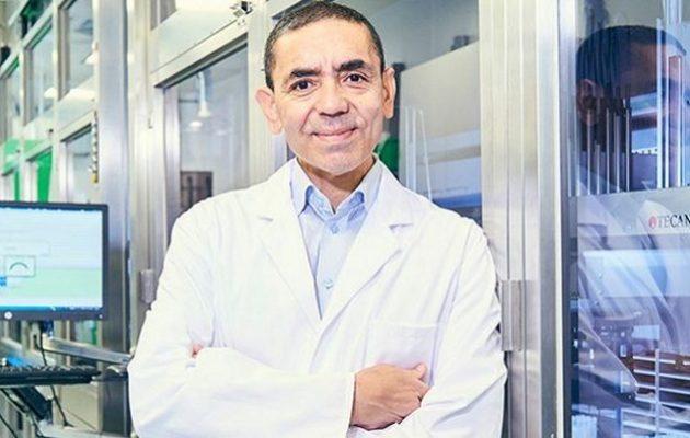 O Ουγούρ Σαχίν της BioNTech μιλά για νέο εμβόλιο που θα συντηρείται σε θερμοκρασίες ψυγείου