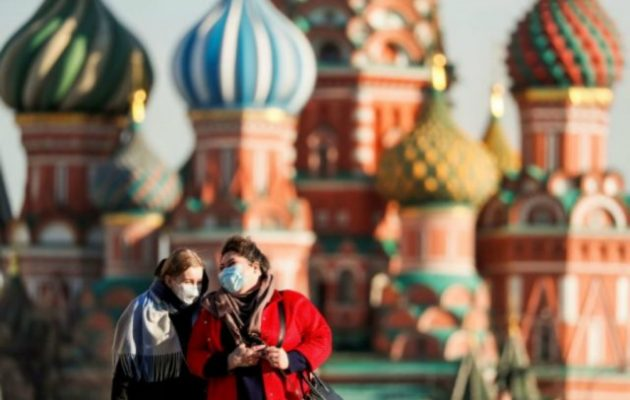 Ο μεγαλύτερος αριθμός κρουσμάτων από τις 20 Μαρτίου στη Ρωσία