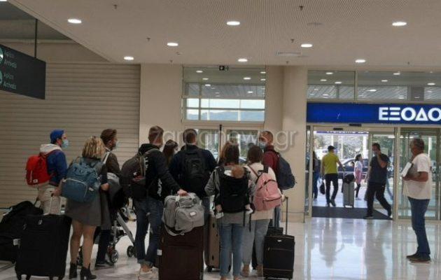 Το Σάββατο 8/5 έφτασαν 166 τουρίστες από Βέλγιο και Γαλλία στα Χανιά – Ο τουρισμός δεν ανοίγει στις 14/5;