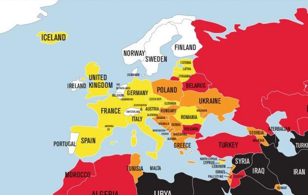 «Προβληματική κατάσταση» η Ελευθερία του Τύπου στην Ελλάδα