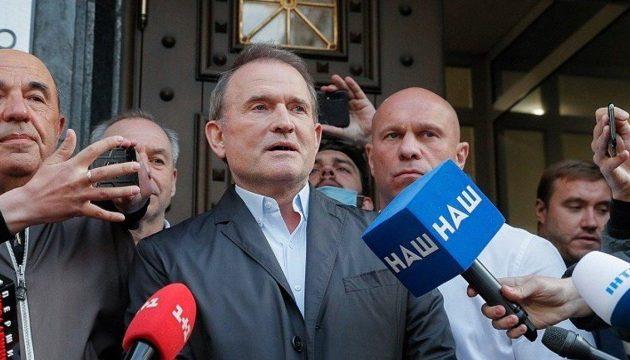 Σε κατ' οίκον περιορισμό για εσχάτη προδοσία Ουκρανός πολιτικός και κουμπάρος του Πούτιν