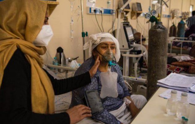 Εκτός ελέγχου η πανδημία στο Αφγανιστάν – Αύξηση κρουσμάτων 2.400% σε ένα μήνα