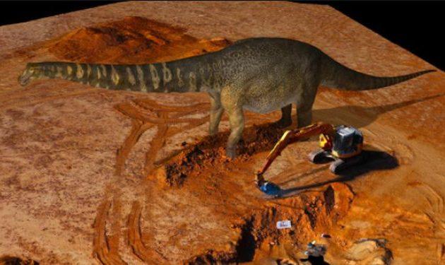 Αυστραλοτιτάν: Ο δεινόσαυρος «τιτάνας» 70 τόνων της Αυστραλίας