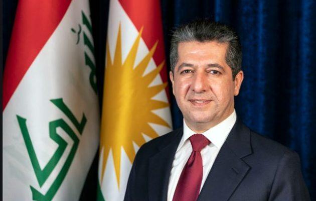 Επίσκεψη του Κούρδου πρωθυπουργού Μασρούρ Μπαρζανί στην Αθήνα
