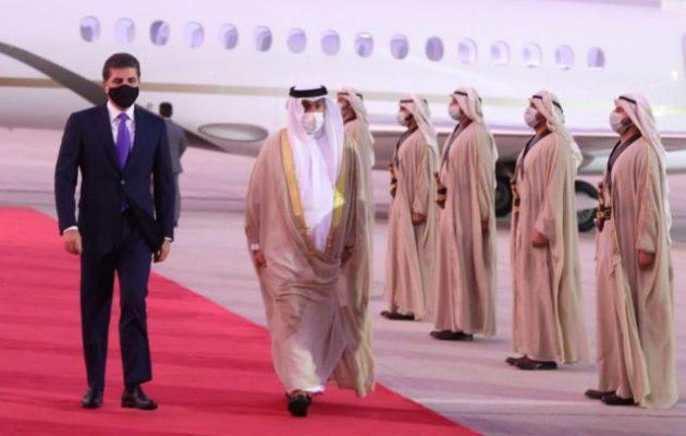 Ο πρόεδρος του ιρακινού Κουρδιστάν στα Ηνωμένα Αραβικά Εμιράτα
