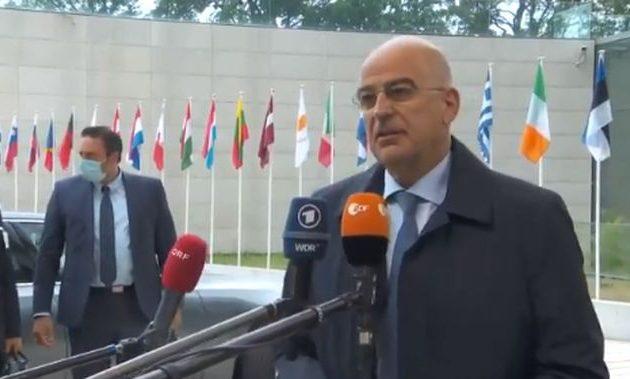 Νίκος Δένδιας: Για την Τουρκία έχουμε πολύ σαφή και δεδηλωμένη θέση