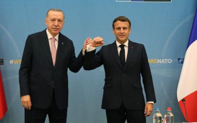 Τι συζήτησαν Μακρόν και Ερντογάν πριν τη Σύνοδο Κορυφής του ΝΑΤΟ