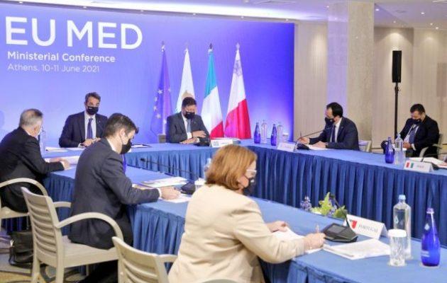 Βαρβιτσιώτης (EUMED): Αναζητούμε κοινές λύσεις για τις μεγάλες προκλήσεις της Μεσογείου