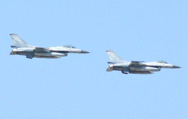 Επειδή η Βόρεια Μακεδονία δεν έχει αεροπλάνα εόρτασε την πολεμική της αεροπορία με ελληνικά F-16