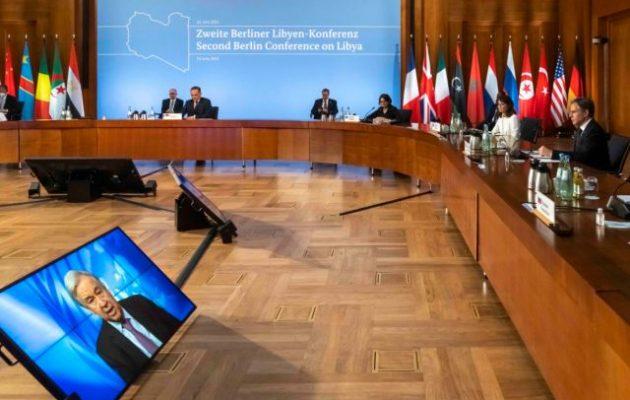 Διάσκεψη για τη Λιβύη: Οι Γερμανοί υποστήριξαν την τουρκική κατοχή στη χώρα