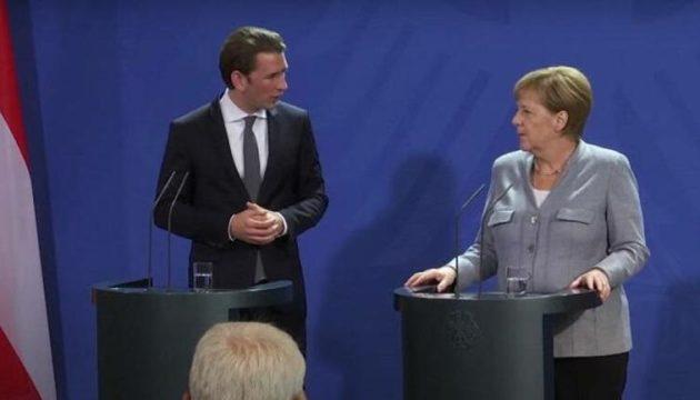 Τηλεδιάσκεψη Κουρτς-Μέρκελ για πανδημία και Σύνοδο Κορυφής