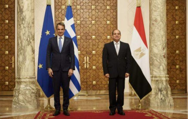 Πρόεδρος Σίσι: Αίγυπτος και Ελλάδα έχουμε βαθιές φιλικές σχέσεις εδώ και χιλιάδες χρόνια