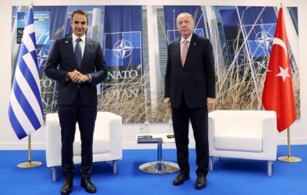 Κυβερνητικές Πηγές: Τι συζήτησαν Μητσοτάκης και Ερντογάν
